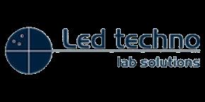 led techno logo